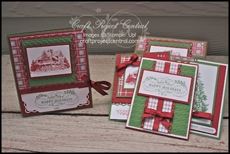 3.Christmas Lodge Folder & Card by anne marie hill