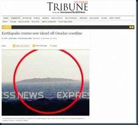 nova ilha em Gwadar