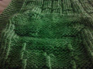 Closeup of bamboo blanket kodama