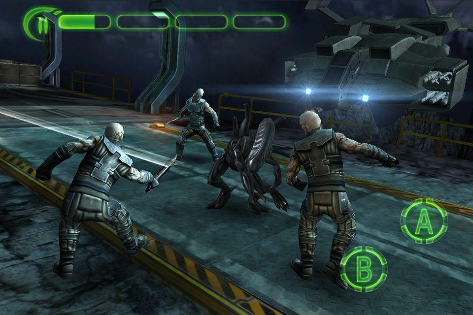 Alien Vs. Predator: Evolution (iOS) - Walkthrough Part 1 ...