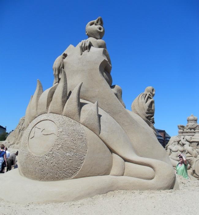 Københavns Sandskulpturfestival 2012