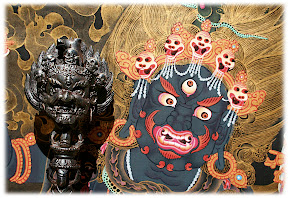 Troma Nagmo Phurba and Thanka