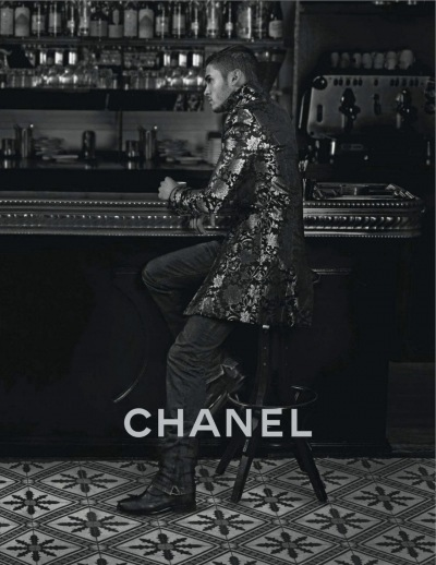 Baptiste Giabiconi for Chanel Paris-Bombay 2012
