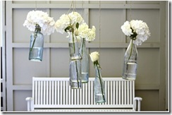 beach cottage vintage bottle decor ideas