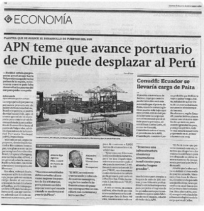 puertos perú