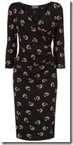 Phase Eight Swan Print Jersey Dress