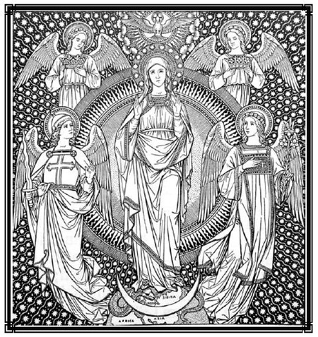 mass for our lady in advent