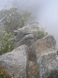 Moncong Lompobatang steep rock section between Pos 9 and the summit (Daniel Quinn, September 2011)