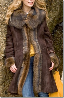 Celtic Shearling Coat