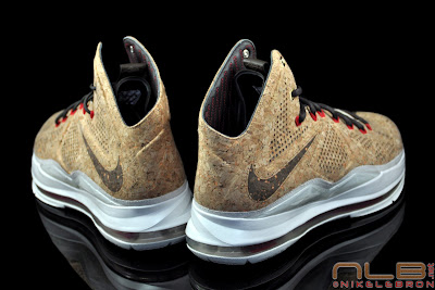 lebron10 nsw cork 31 web black The Showcase: NIKE LEBRON X Cork World Champions Shoes