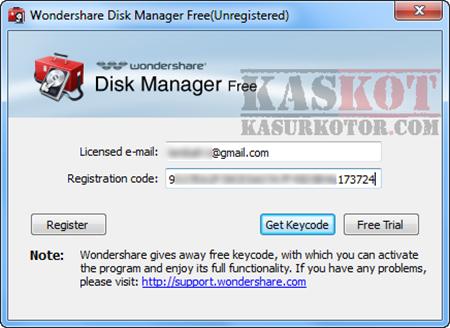 Membagi, Menghapus dan Recover Partisi Hard Disk - Wondershare Disk Manager