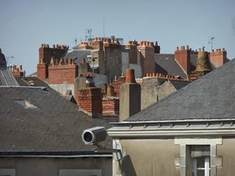 tejados de Nantes