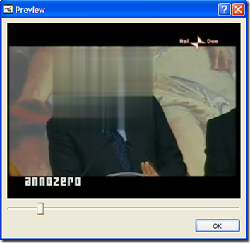 Avidemux anteprima video modificato