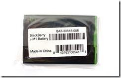 Оригинальный аккумулятор J-M1 для BlackBerry 9900. Да, сделан в Китае