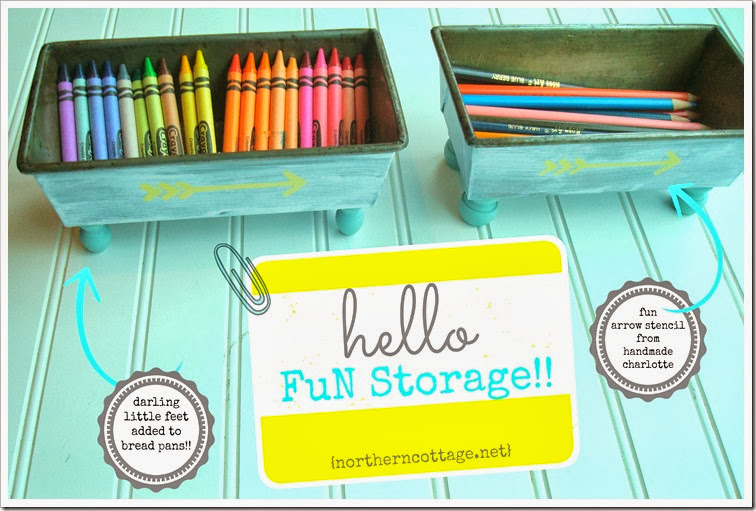 DIY - FuN Storage IDEA! {Northern Cottage}