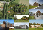 Schuur-stable architectuur in Warnsveld