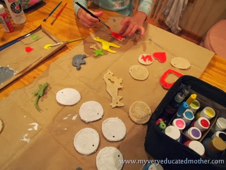 #NUO2013 Salt Dough Ornaments Painting