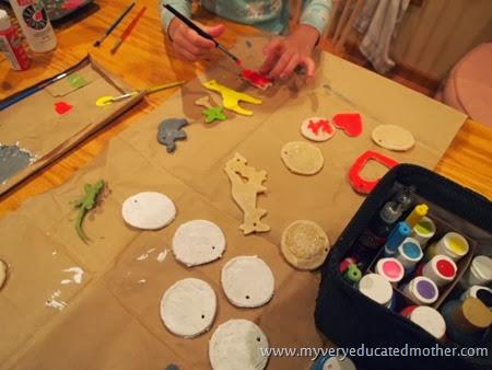 #NUO2013 Salt Dough Ornaments Painting