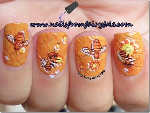 busy bee manicure 2