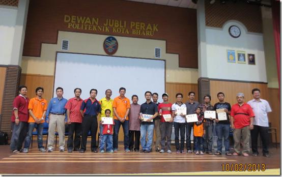 Winners of Kelantan Open 2013