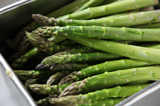 And just take a look at these asparagus spears!