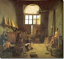 Interior-Of-The-Studio-Of-David