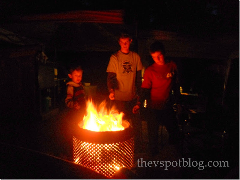 Turn Your Old Washing Machine Into A Fire Pit The V Spot