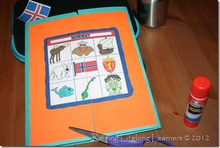 Finsihed Lapbook