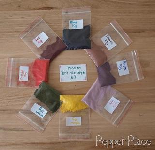 procion dye tie dye starter kit