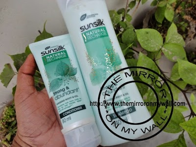 Sunsilk Natural Recharge Shampoo And Conditioner.JPG