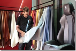poults picking his curtains