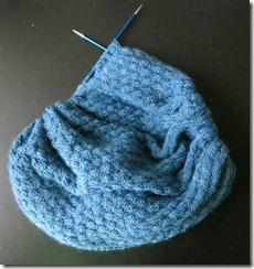 Copykat shawl - ruffle