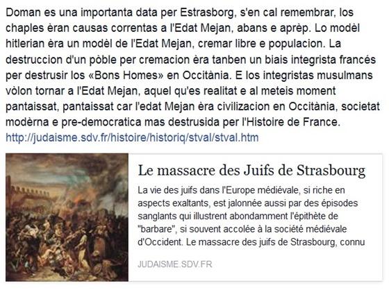 14 de febrièr Estrasborg