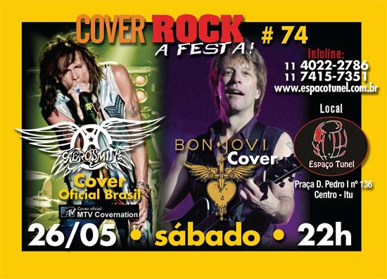 Cover Rock Edição 74 - Espaço Tunel - Itu - SP