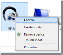 controlar bluetooth