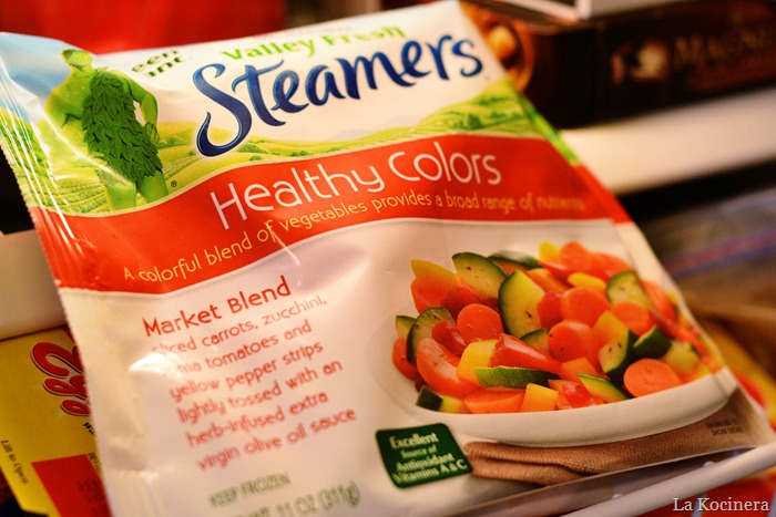 steam veggies