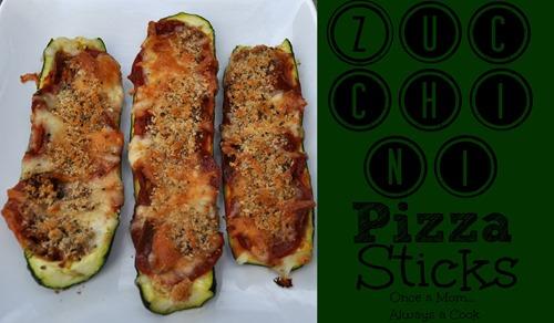 zucchini pizza sticks