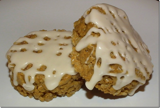 Cinnamon Roll Rice Krispies 4-26-12