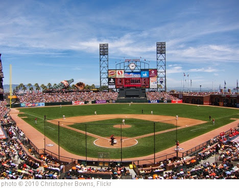 'AT&T Park' photo (c) 2010, Christopher Bowns - license: https://creativecommons.org/licenses/by-sa/2.0/