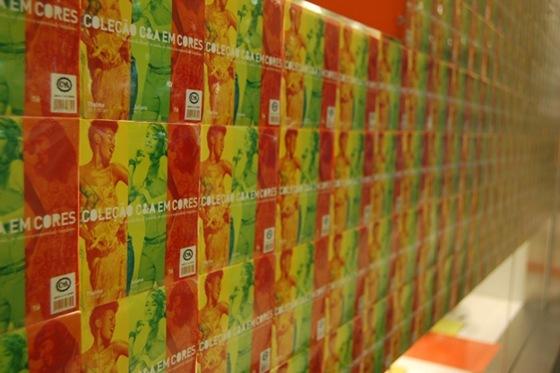 C&A em Cores - Vitrine do Shopping Aricanduva em São Paulo