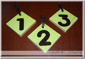 Birthday Board Number Blocks Front {A Sprinkle of This . . . . A Dash of That}