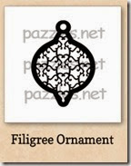 filigree ornament-200j