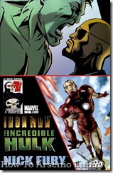 Iron Man, Hulk, Fury