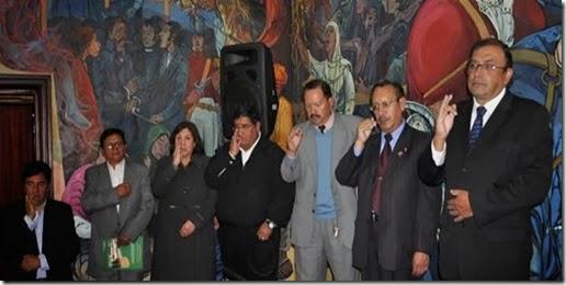 Elecciones rectorado UMSA 2013
