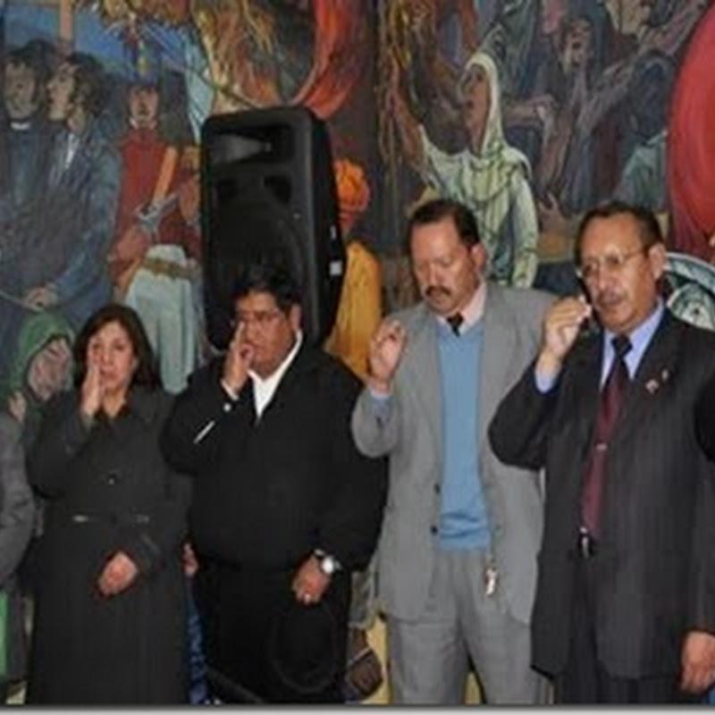 Posesionan al nuevo Comité Electoral en la UMSA