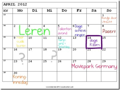kalenderapril