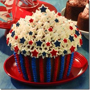 america's star cupcake