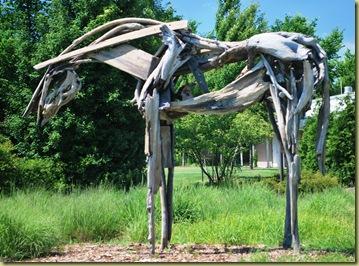 S1 - Horse - wood
