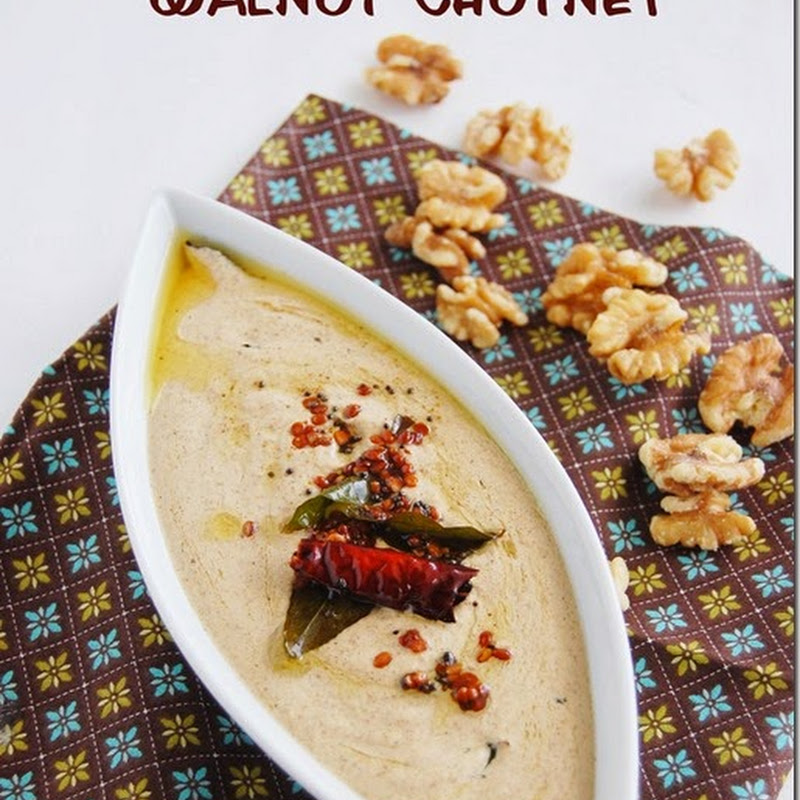 Walnut chutney