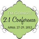2 1 Conference Button I'm Going